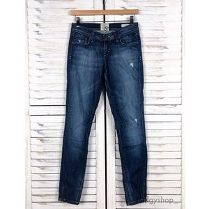 [Dylan George] Lucy Low Rise Skinny Zip Jeans